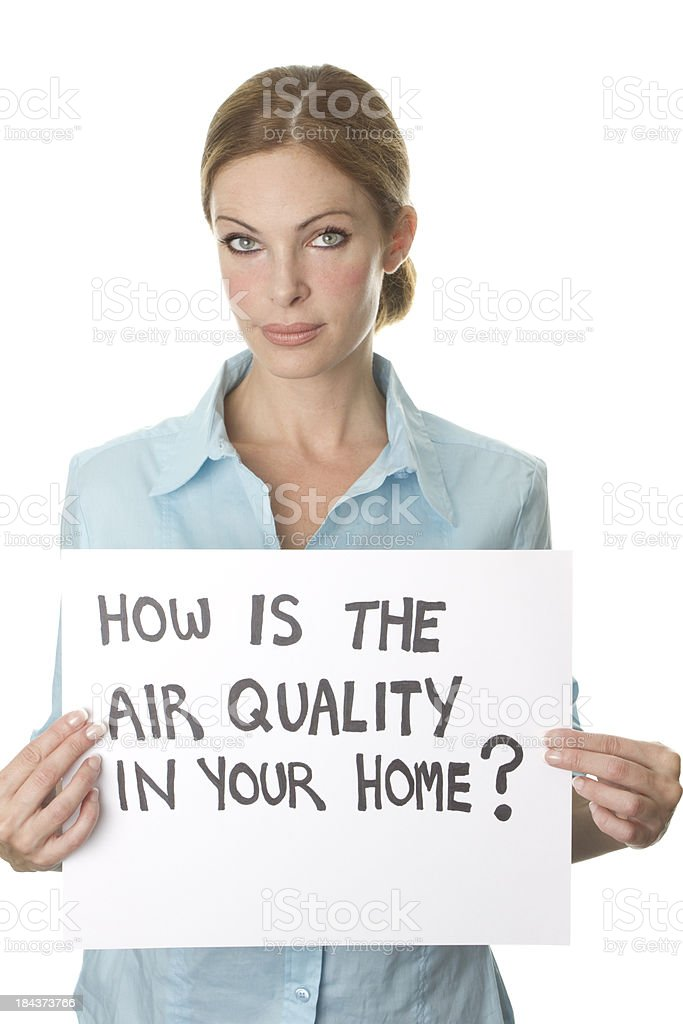 air quality in home stock photo