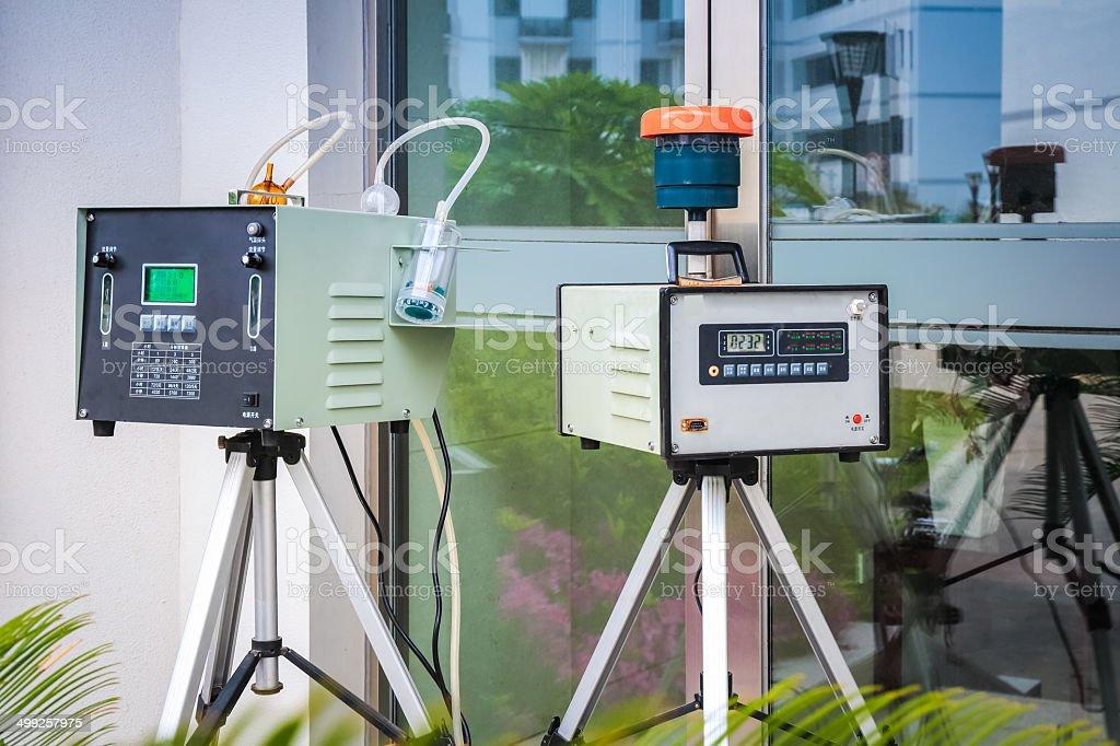 Luftqualität Begleitinstrumente – Foto
