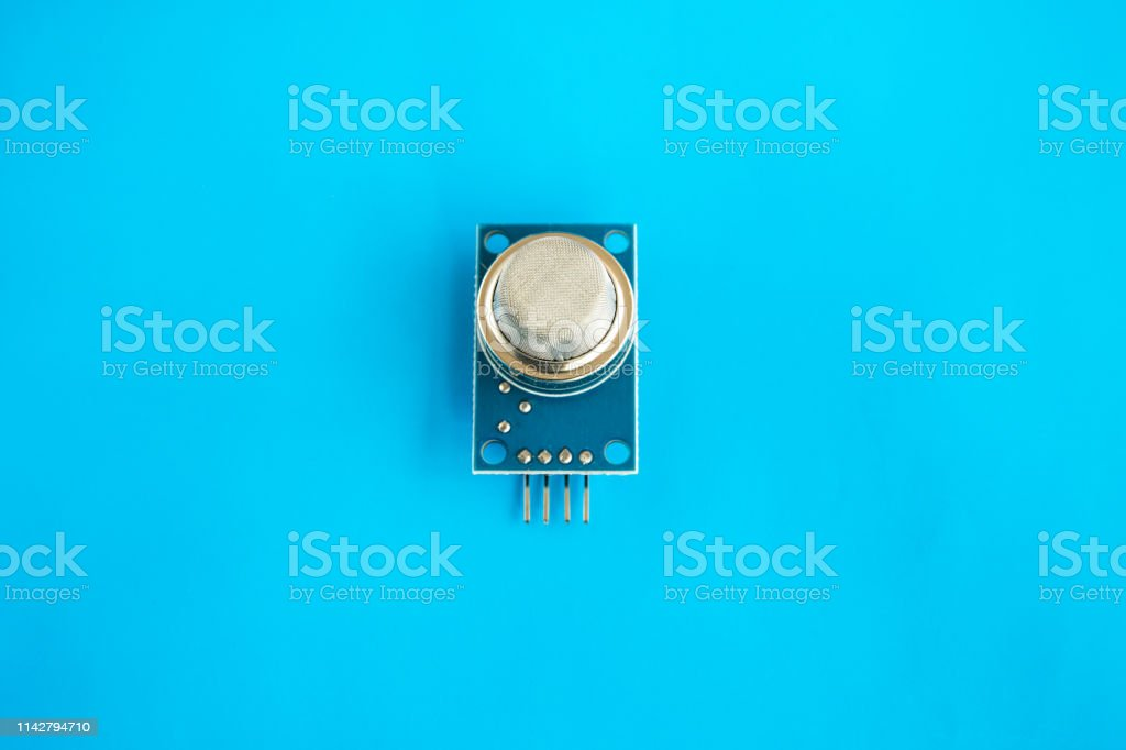 Sensor de calidad del aire. Módulo de detección de gases peligrosos para Arduino - foto de stock