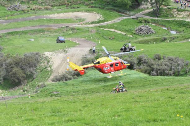Air rescue stock photo