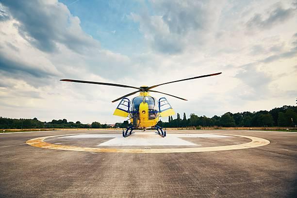 Air rescue service stock photo