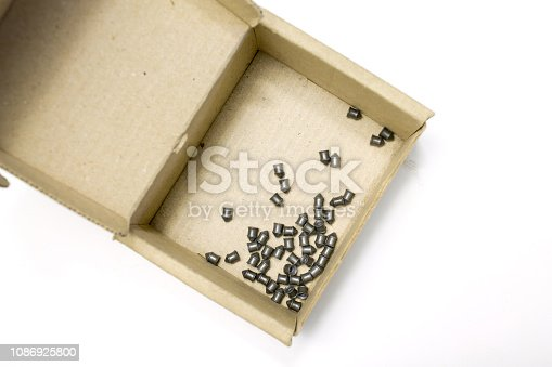 🔥 Metal Pellets For Air Rifle Gun In The Box Isolated Above