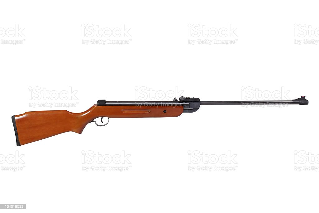 Air rifle stock photo