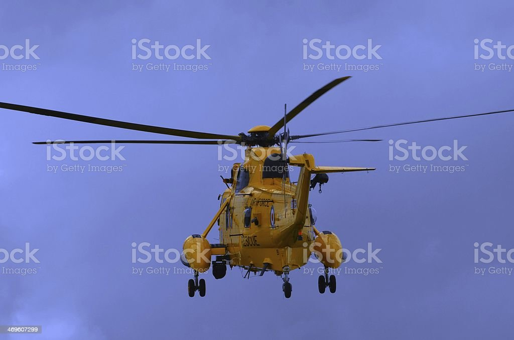 Air Sea Rescue Helicopter stock photo