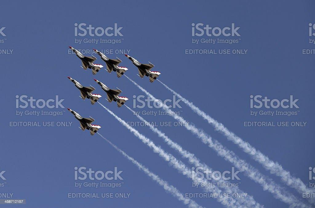 Air Show Turkey 2011 royalty-free stock photo