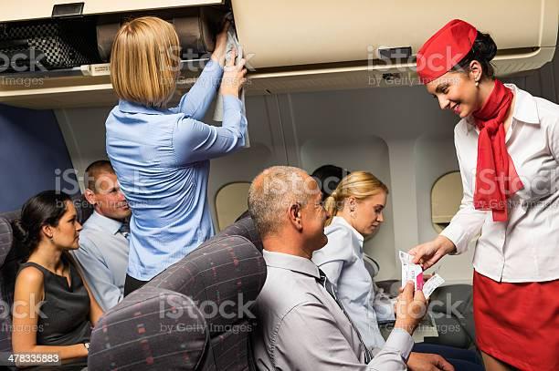 Geile stewardess