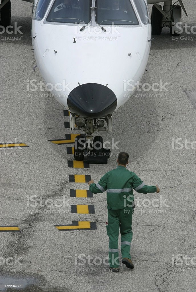 Air Traffic Ground Control royalty-free stock photo