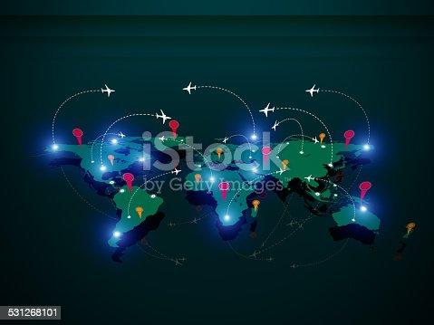 174936437 istock photo Air traffic 531268101