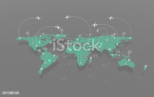 174936437 istock photo Air traffic 531268105