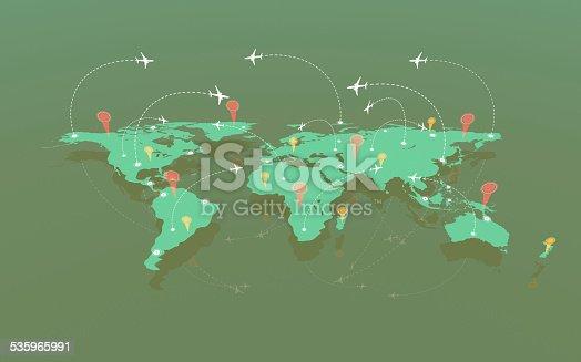 174936437 istock photo Air traffic 535965991