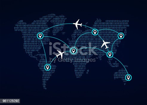 174936437 istock photo Air traffic 951125292