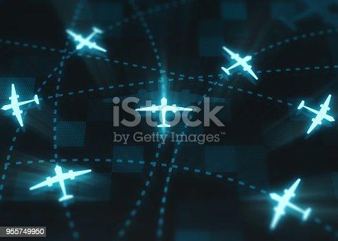 174936437 istock photo Air traffic 955749950