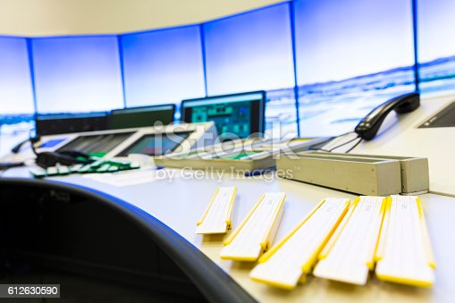 istock Air Traffic Services Authority controller's desk 612630590