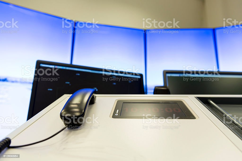 Air Traffic Services Authority phone stock photo