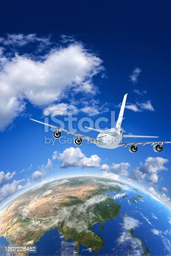 538675410 istock photo Air Travel concept image 1207228452