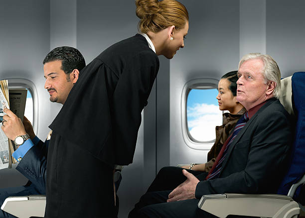 Air Travel stock photo