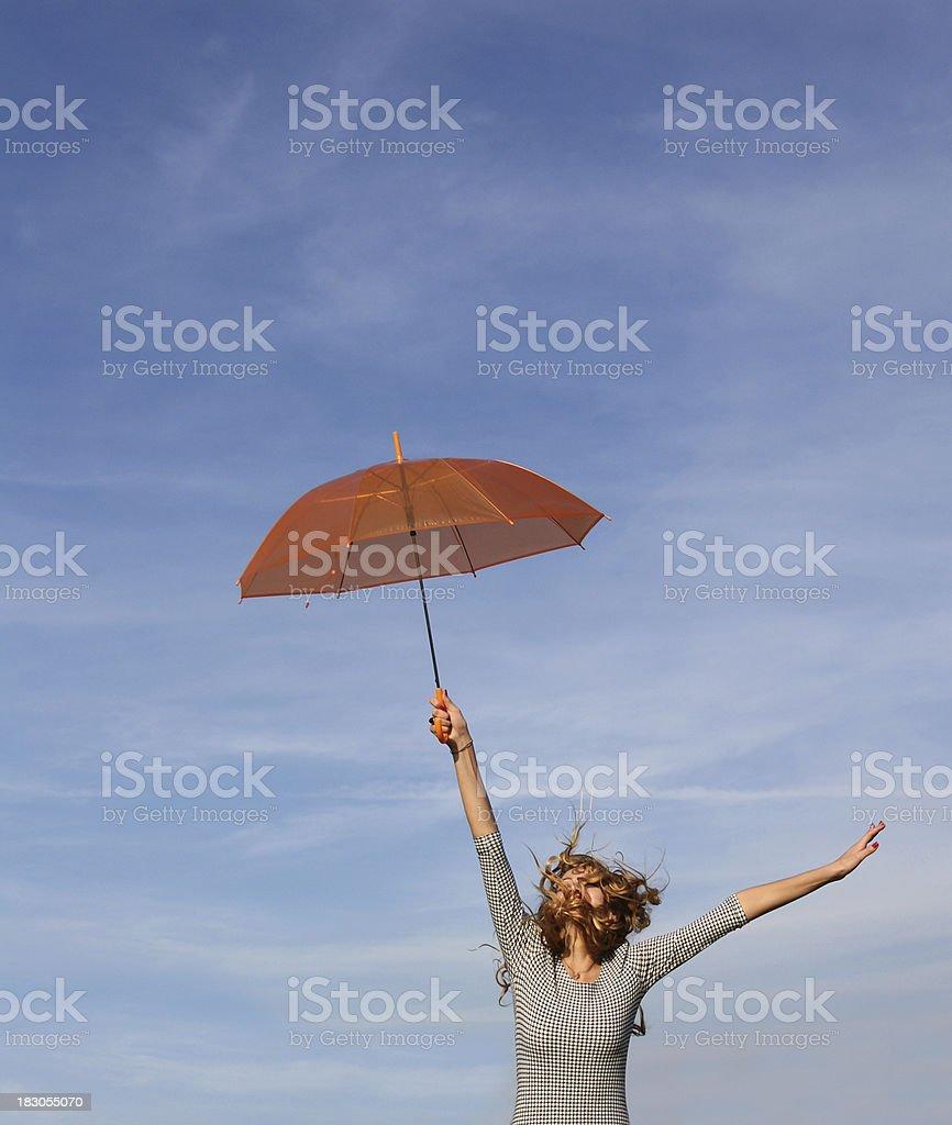 air umbrella royalty-free stock photo