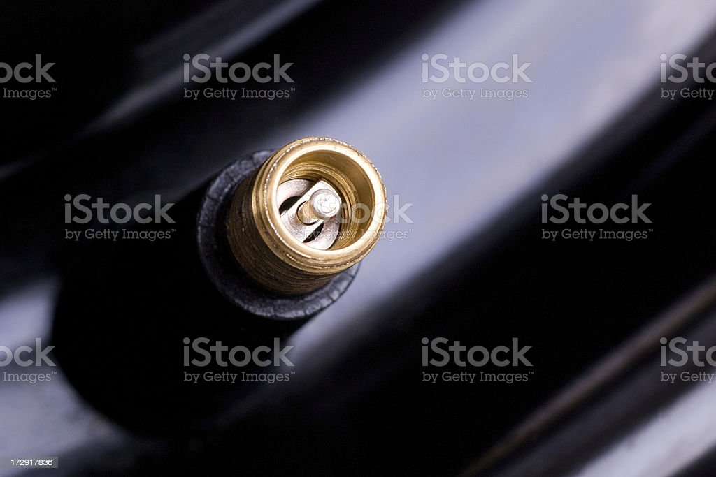 Air Valve stock photo
