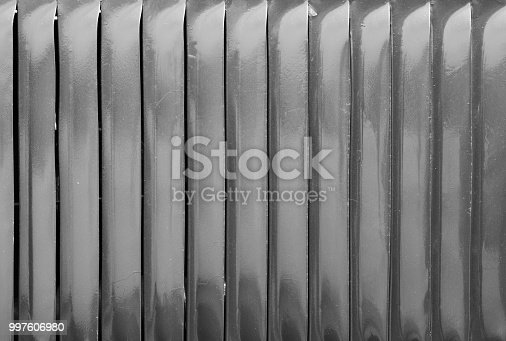 istock Air vent slots in black and white 997606980