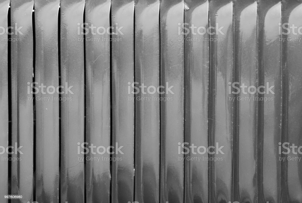 Air vent slots in black and white stock photo
