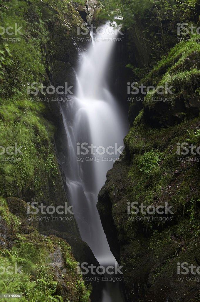 Aira Force Waterfall 3 royalty-free stock photo