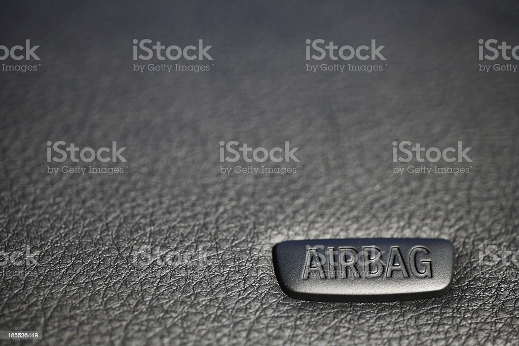Airbag royalty-free stock photo
