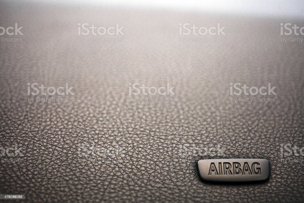 Airbag royalty-free stock photo