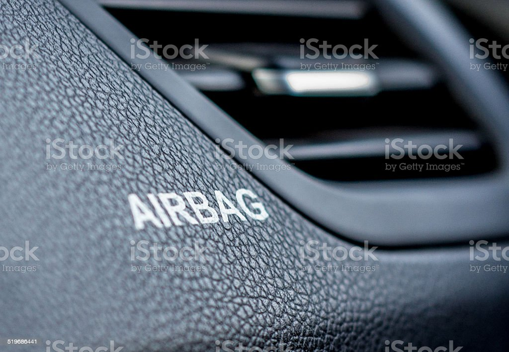 Airbag - foto de stock