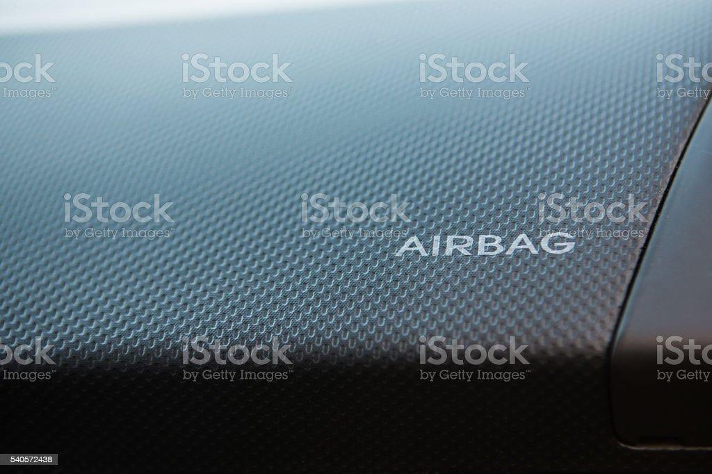 Airbag-Imagen de Stock - foto de stock