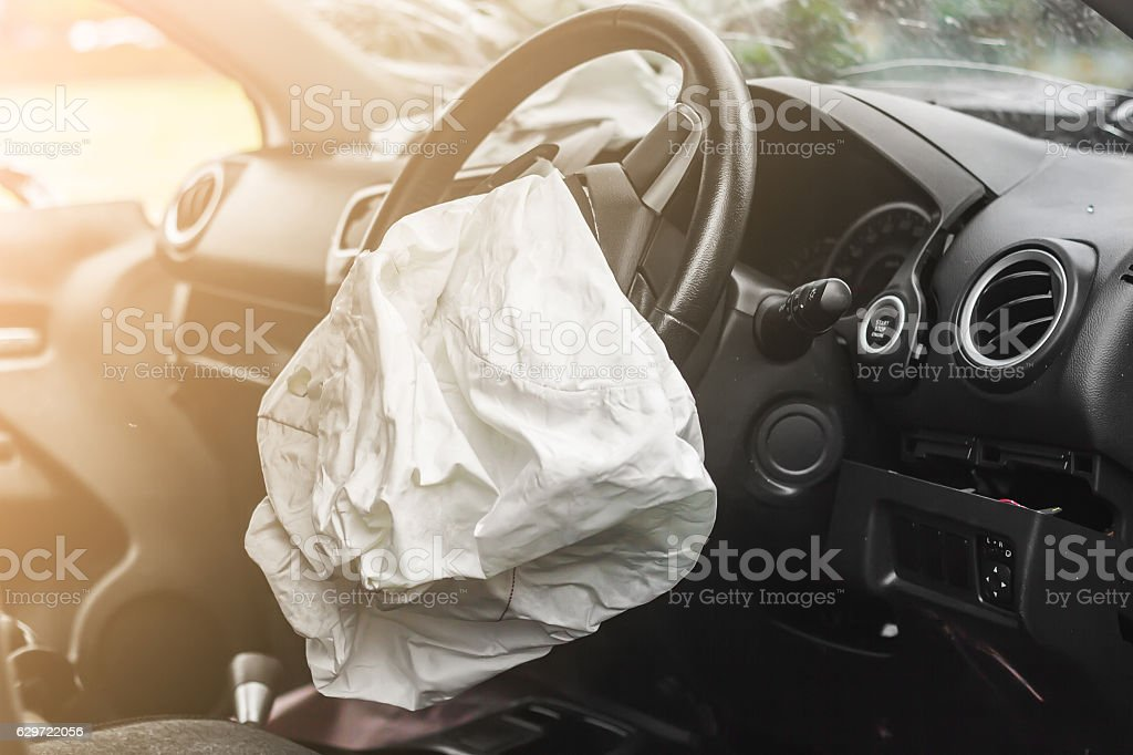 Airbag work - foto de stock