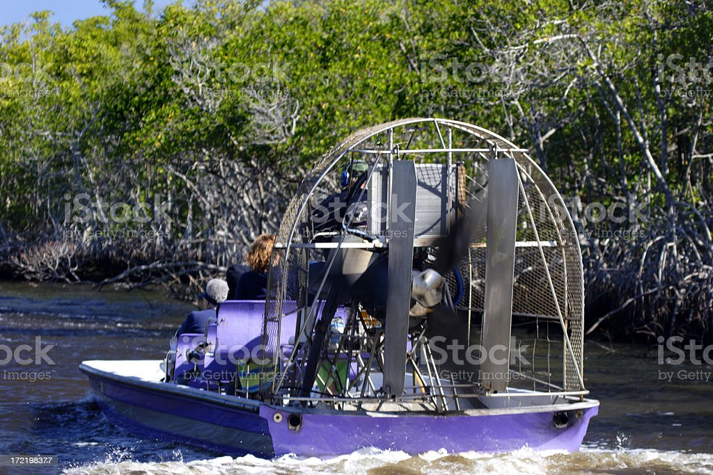 Airboat 2 stock photo