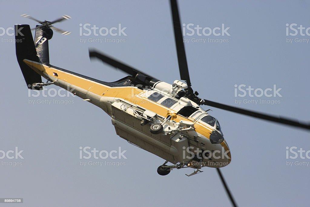 Airborne flight royalty-free stock photo