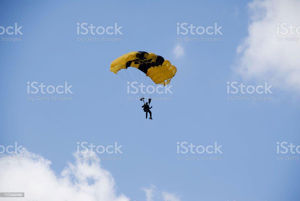 Airborne stock photo