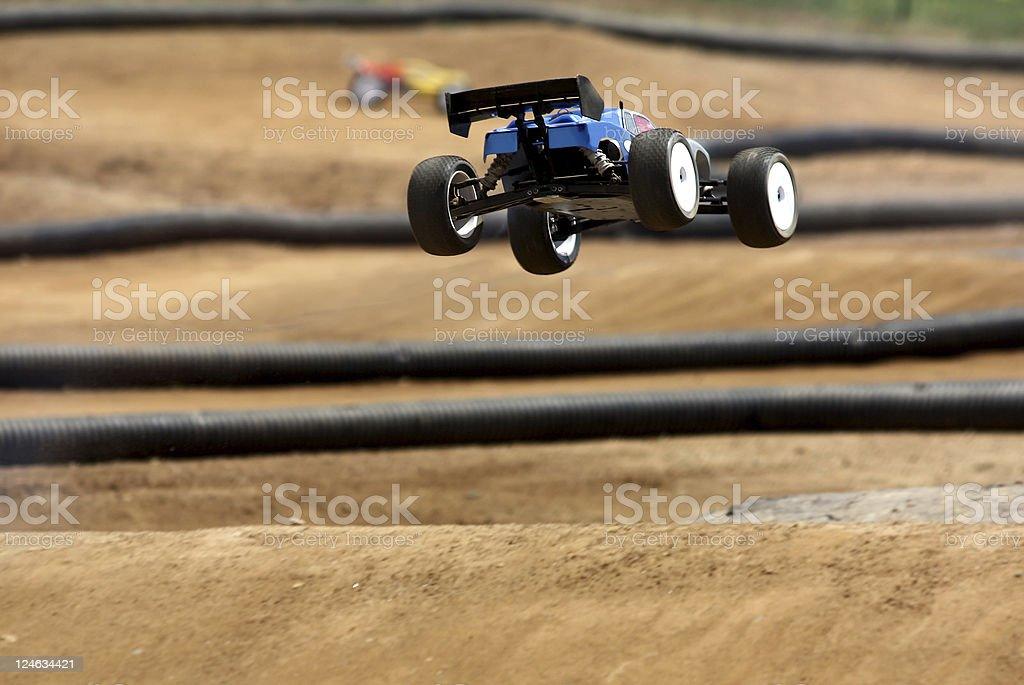 Airborne Radio Controlled Car stock photo