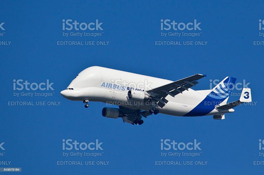 Airbus A300-600T Beluga - Air Transport stock photo