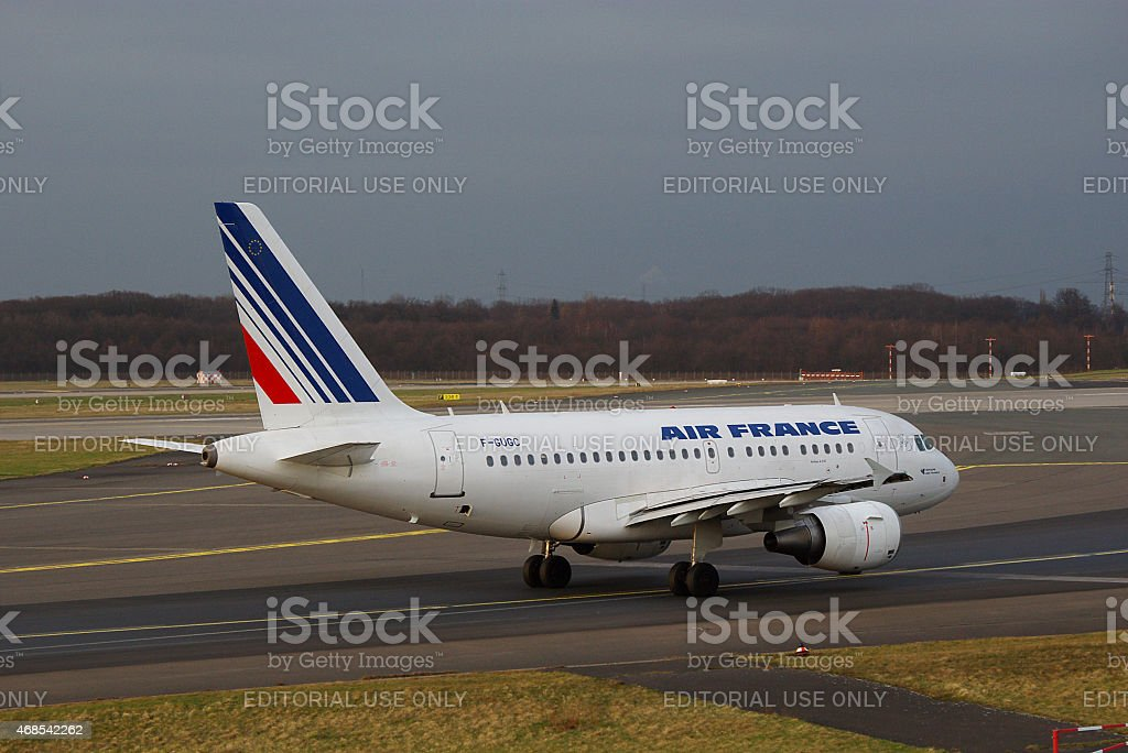 Airbus A318-111 Air France stock photo