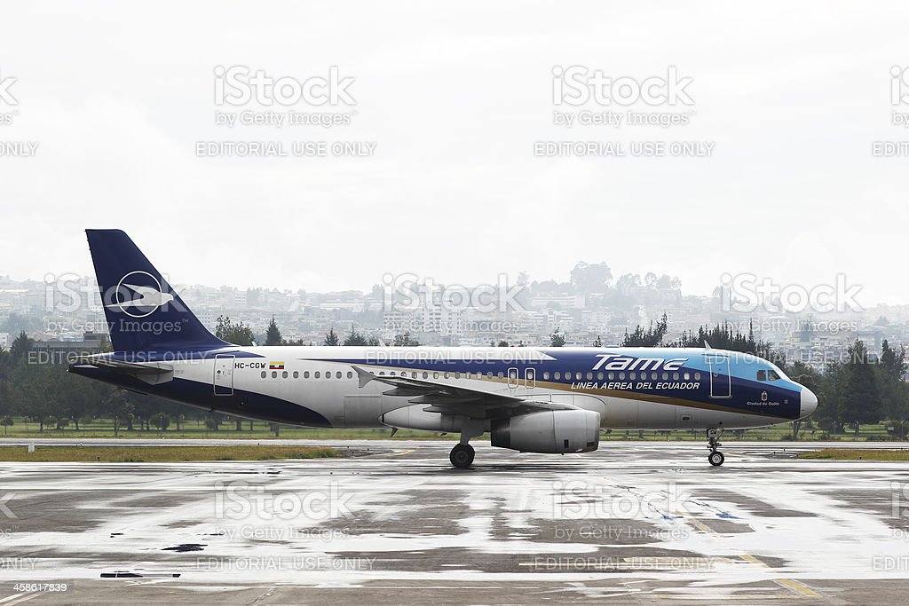 TAME Airbus A320 stock photo