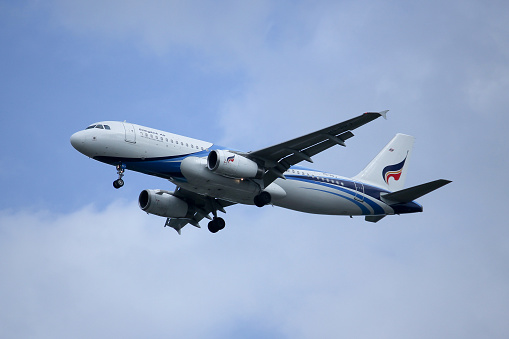 Hsppj Airbus A320200 Stock Photo - Download Image Now