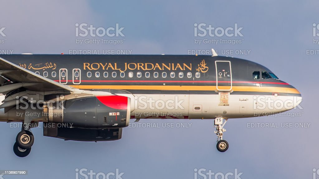 Airbus A320-232 Royal Jordanian Airlines landet am Flughafen Zürich – Foto