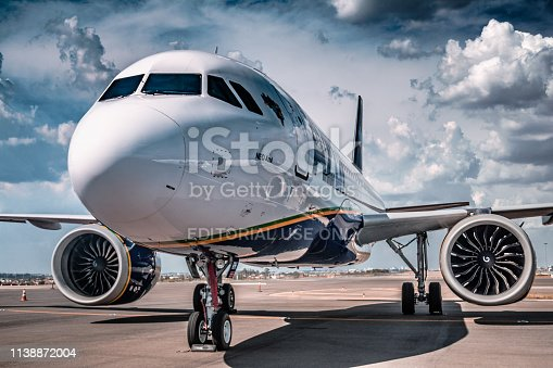 istock Airbus A320neo - PR-YRH - Azul Linhas Aéreas - During the party ceremony - Azul 10 years 1138872004
