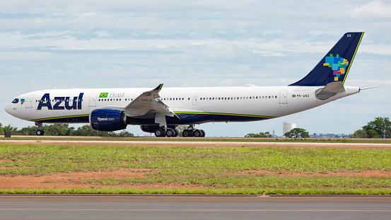 airbus a330 900 neo plane of Azul Linhas Aereas