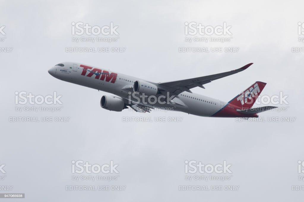 LATAM (TAM) Airbus A350 - foto stock