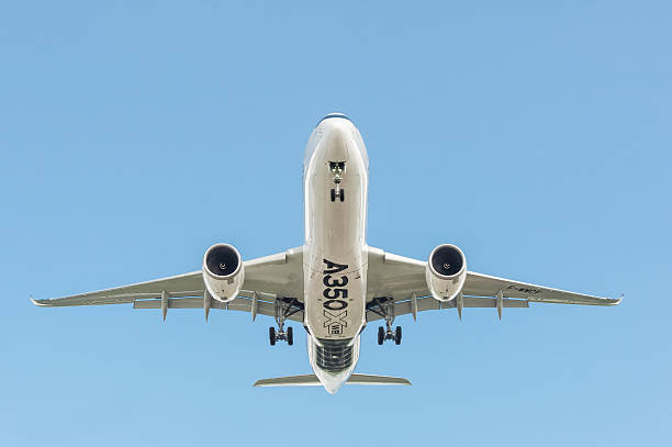 Airbus A350 XWB stock photo