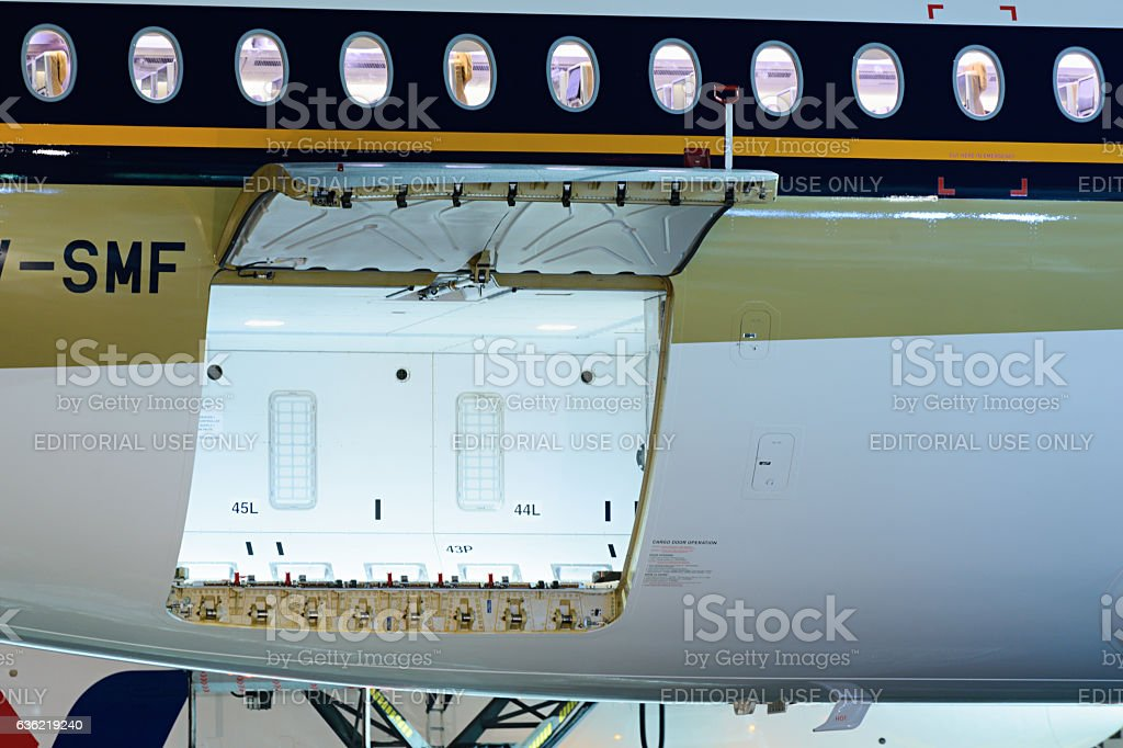 Airbus A350-900 9V-SMF Singapore Airlines - foto stock