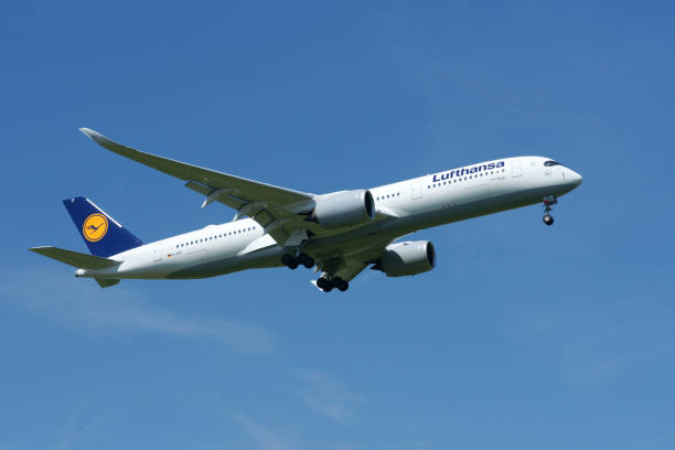 Airbus A350-941 Lufthansa reg. D-AIXF - foto stock