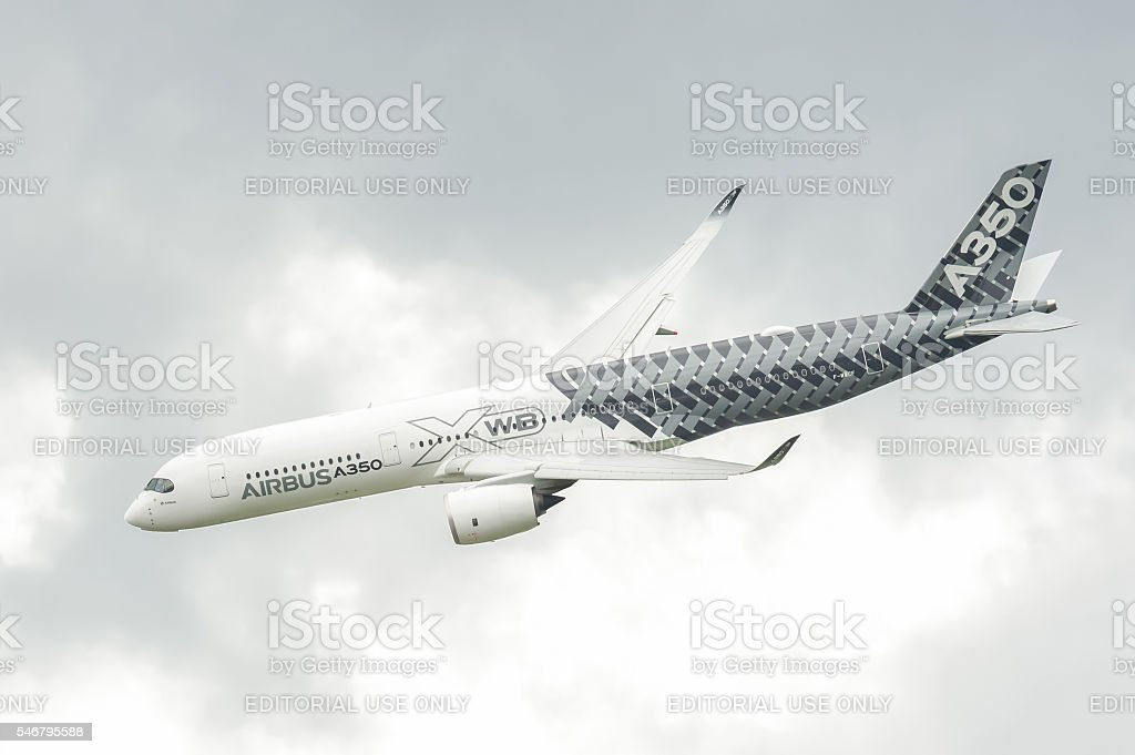 Airbus A350-941 stock photo
