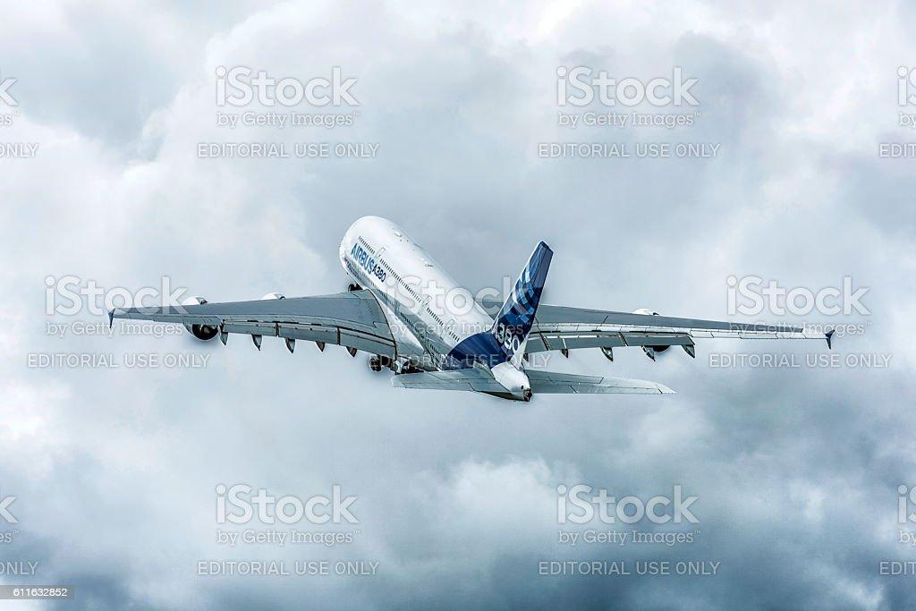 Un Airbus A380  - Photo