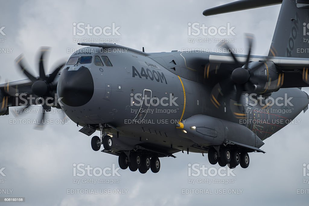 Airbus A400M stock photo