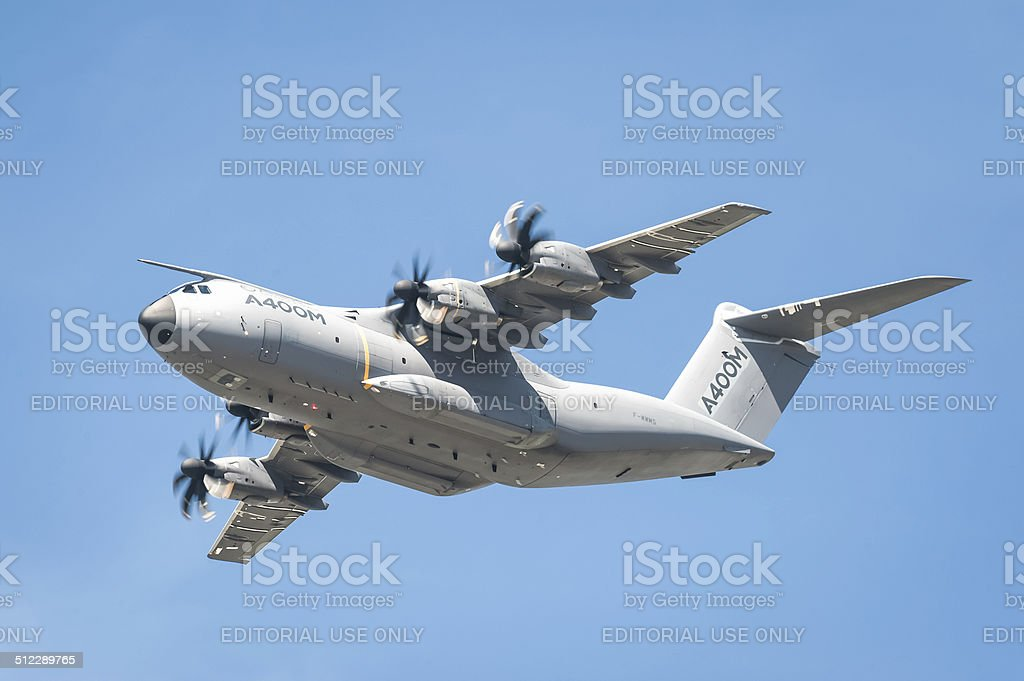 Airbus A400M transporter stock photo
