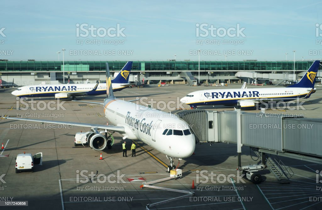 Airbus Airbus A321-231 - Thomas Cook Airlines reg. YL-LCQ stock photo